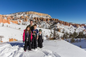 Kids and Me in Bryce Canyon National Park