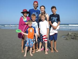 Carlton family beach new hampshire travel