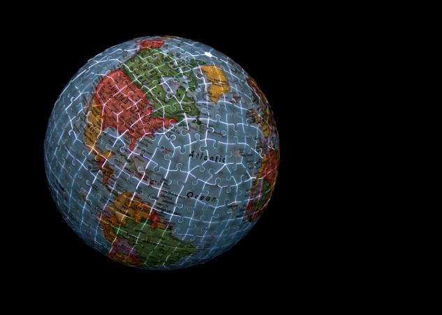 Illuminated Globe Puzzle