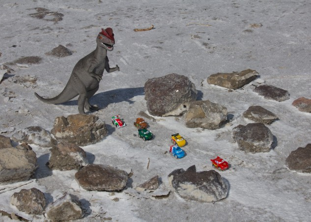 Cars Dinosaur Salt Flats