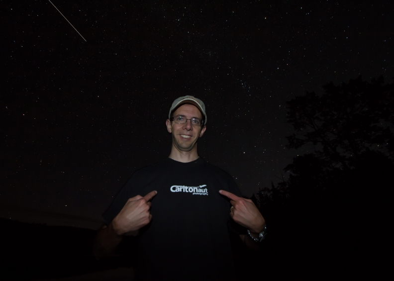 International Space Station photobomb Carltonaut photography