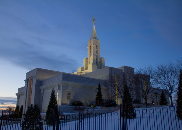 Photograph of the Bountiful Utah Temple