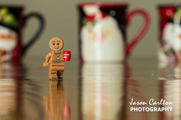 photo Lego mini figure gingerbread man