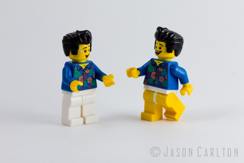photo Lego guy minifigure pants movie