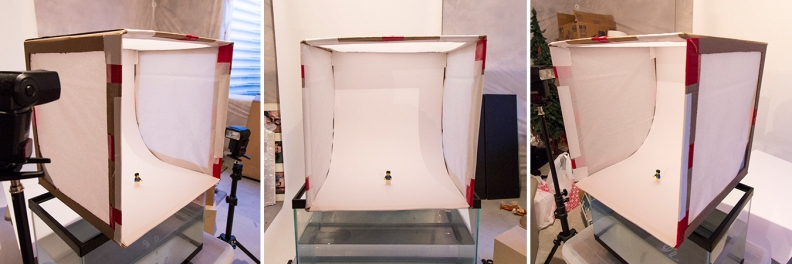 build DIY lightbox photo setup